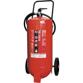 ガス加圧式粉末消火器(車載式)